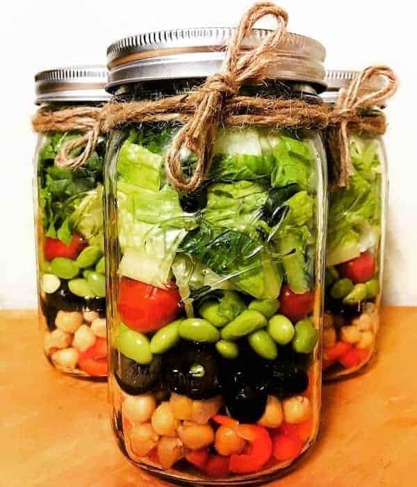 The Mason Jar Exchange Salad