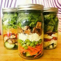 The Mason Jar Exchange Build Your Own Salad
