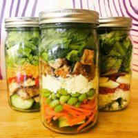 The Mason Jar Exchange Build Your Own Salad