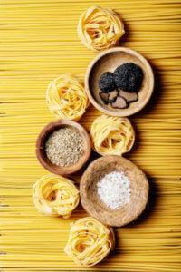 The Mason Jar Exchange Truffle Fettuccini Image