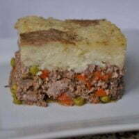 Shephard's Pie on a plate