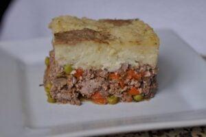 Shephard's Pie on a plate
