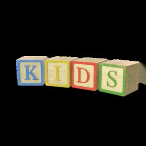 Letter blocks spells kids
